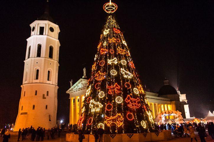Įspūdingiausia pasaulio Kalėdų eglė
